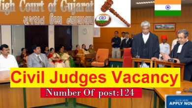 Photo of Recruitment Of CIVIL JUDGES in High Court of Gujrat