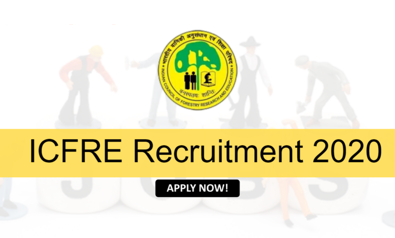 Photo of ICFRE Recruitment 2020 Apply Store Keeper, Forest Guard & Other Posts