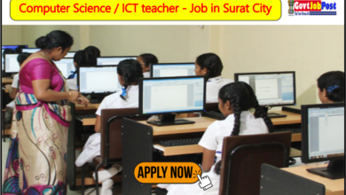 Photo of Computer Science / ICT teacher – Job in Surat City
