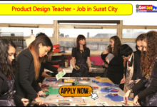Photo of Product Design Teacher – Job in Surat City