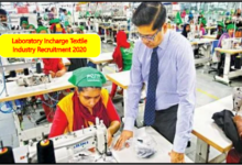 Photo of Laboratory Incharge Textile Industry Recruitment 2020 – Job in Surat